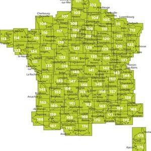 FRANCE TOPO MOSAÏQUE IGN TOP 25