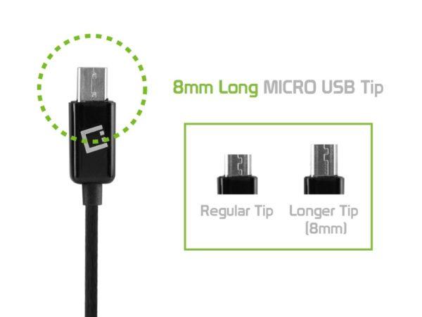 CABLE USB MICRO USB LONG