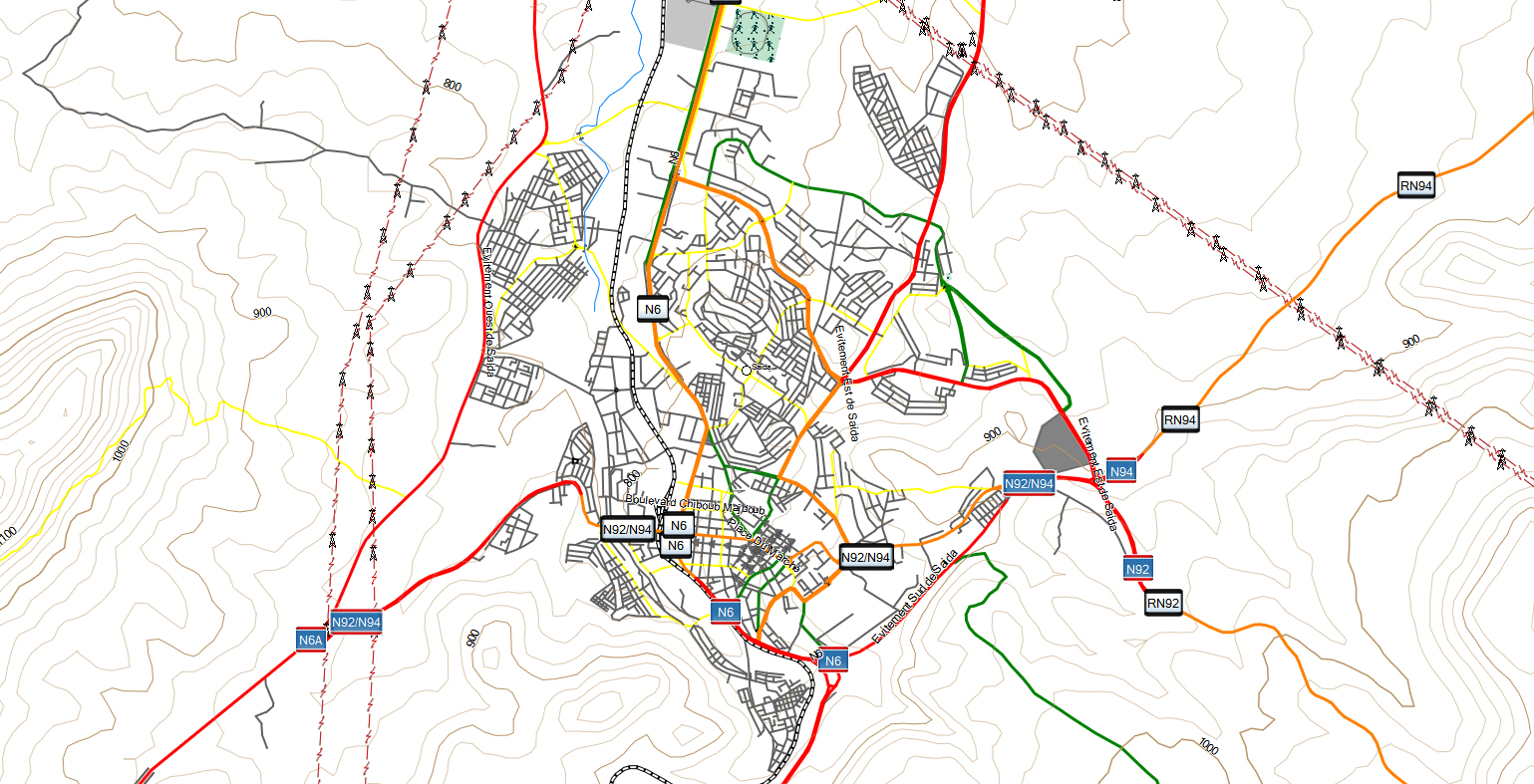 CARTE TOPO MAP GARMIN ALGERIE