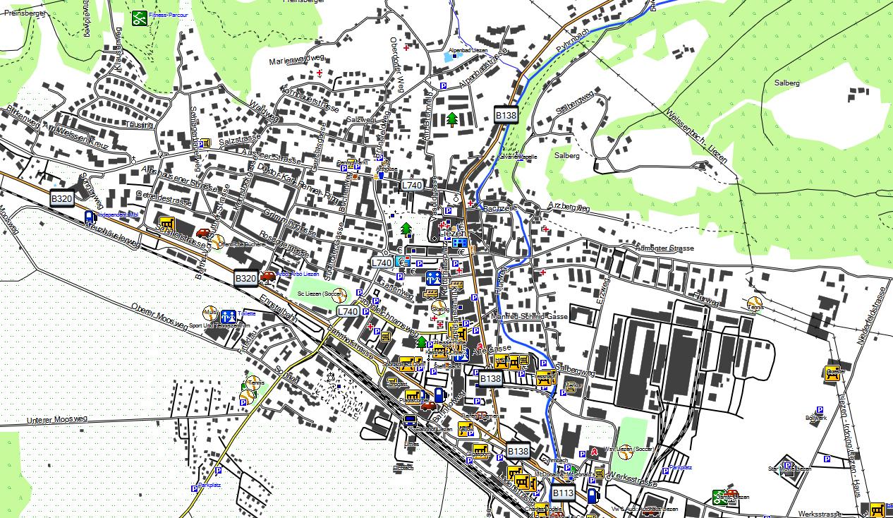 CARTE TOPO MAP GARMIN ALLEMAGNE