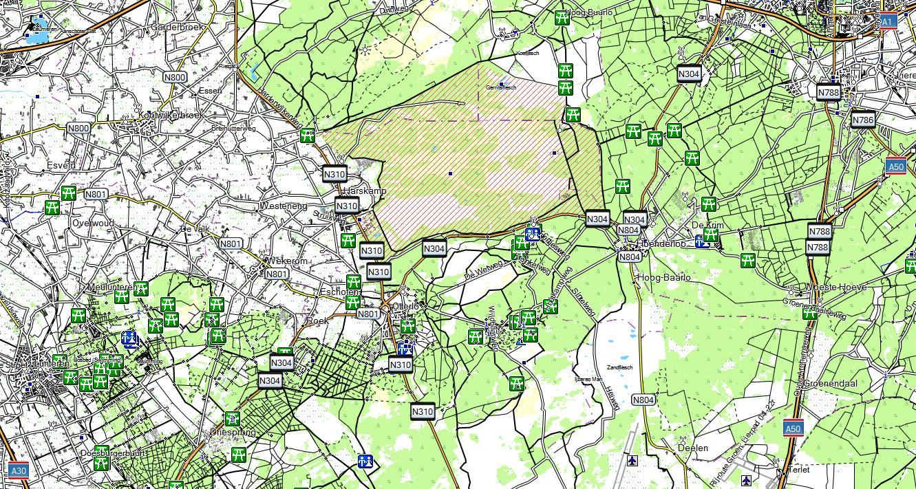 CARTE TOPO MAP GARMIN HOLLANDE_PAYS BAS