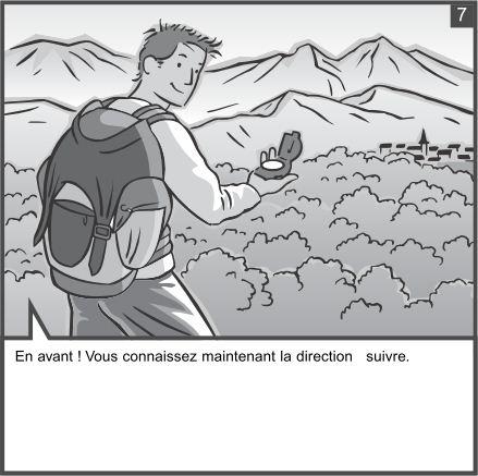 Utilisation d'une boussole Compass