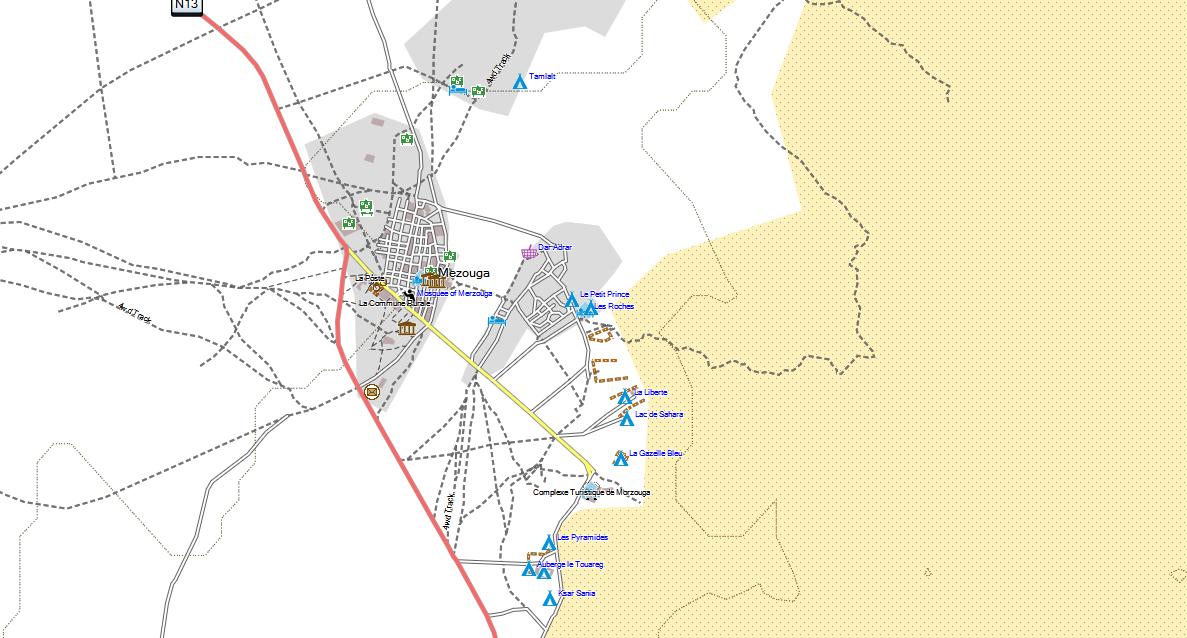 TOPO MAP GARMIN MAGHREB ALGERIE MAROC MAURITANIE LIBYE TUNISIE